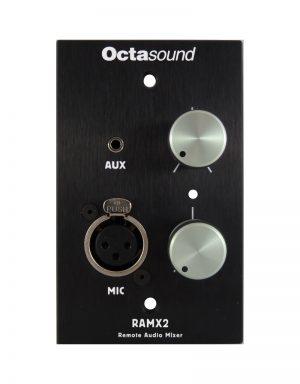 Octasound RAMX2 Mixer Front View