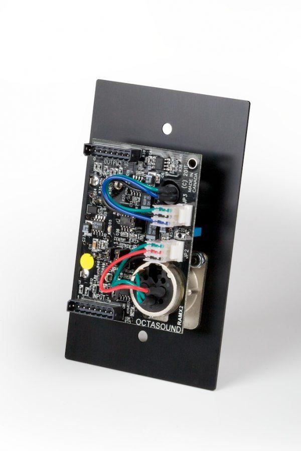 Octasound RAMX2 Mixer - Rear View