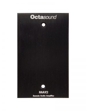 RAAX2 Remote Audio Amplifier Front View
