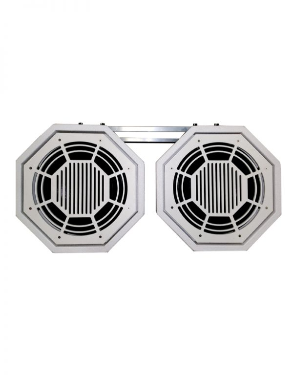 Dual OSX12 Subwoofer with Bracket - Front View