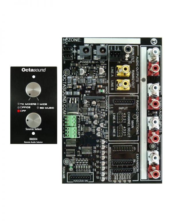 RASX4 Main Board and Selector Panel