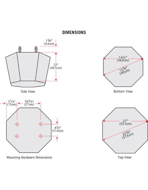 SP820A Dimensions