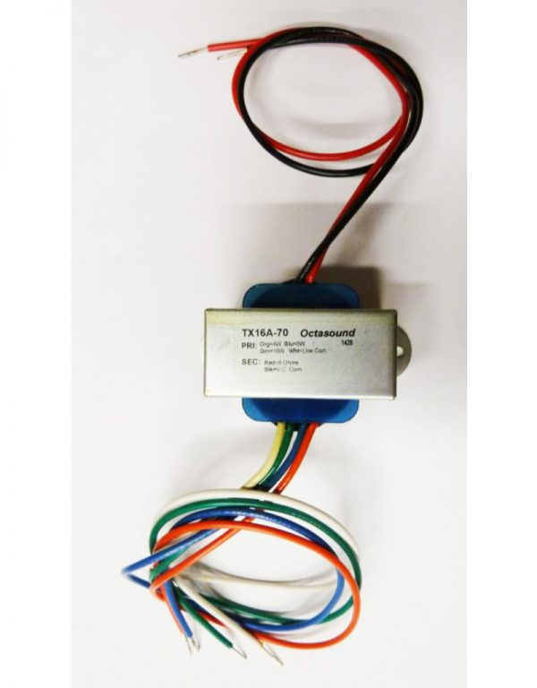 TX16A - 70 Volt Audio Transformer