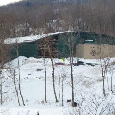 Jay Peak ice Haus Arena