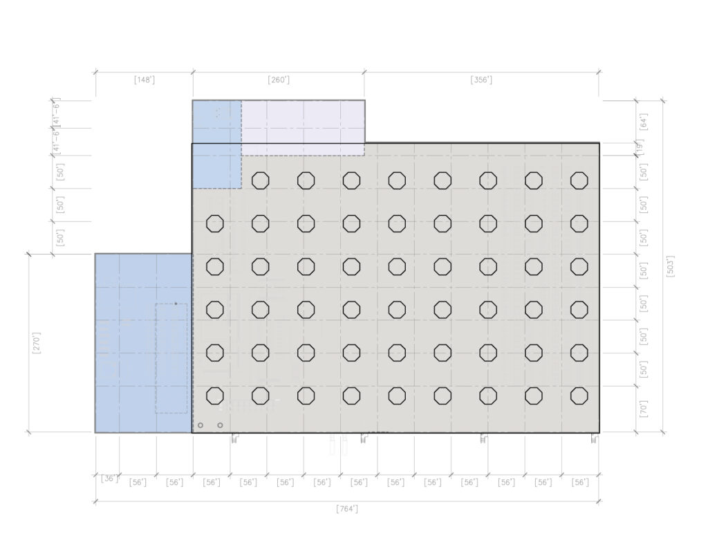 Warehouse/ Factory Sound System Speaker Layout
