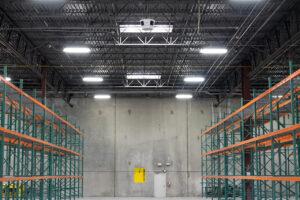 Sound System - DPR Construction Warehouse Austin